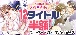 「アイドル様の溺愛キス!」「ヤクザと花びら」発売記念 <キケンな恋特集> 今だけ12タイトルが半額!!