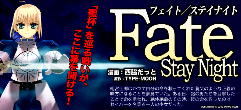 Fate/stay night(フェイト/ステイナイト)