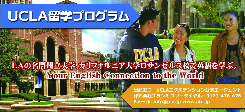 UCLA 学部留学プログラム